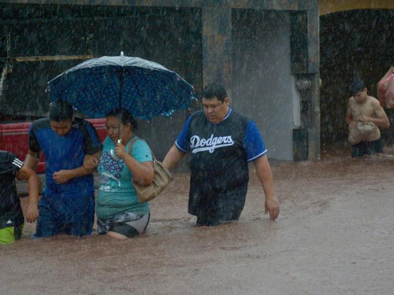 Tras las intensas lluvias, evalúan daños en Sinaloa
