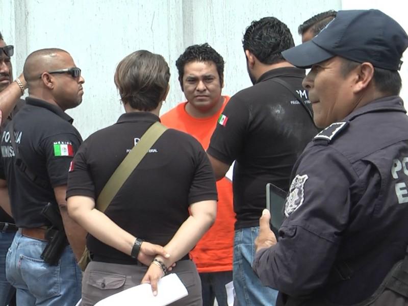 Tras obtener salida alterna, Heriberto Valencia es detenido