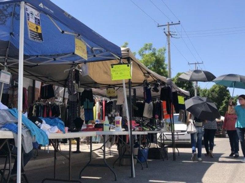 Tras ocho meses de cierre de frontera tianguistas pierden ventas