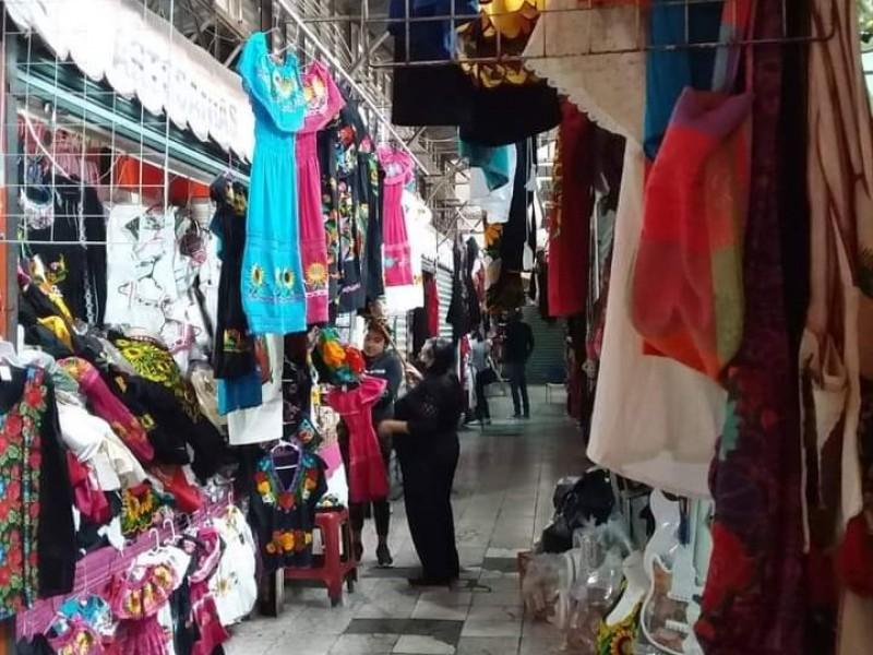 Tras pandemia, buscan reactivar ventas de comerciantes del mercado Morelos