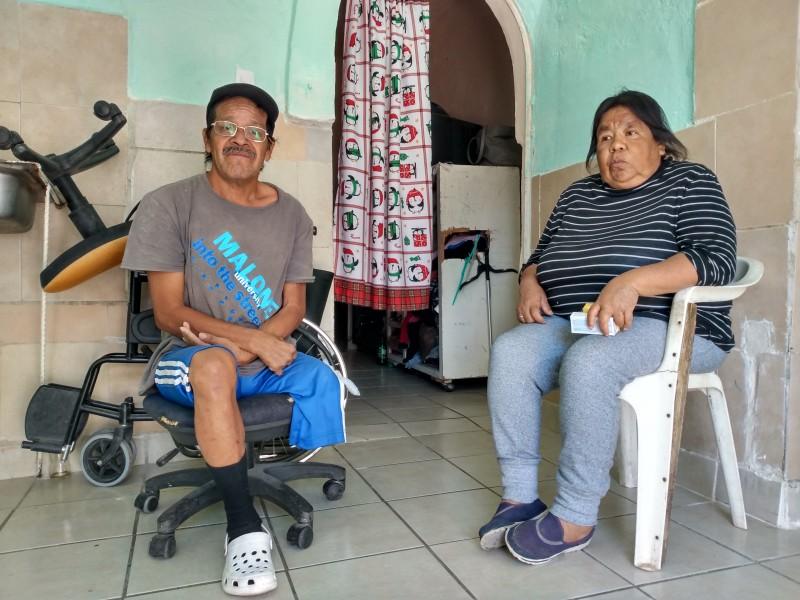 Tras publicación en facebook; Don Lorenzo recibió donativo de refrigerador