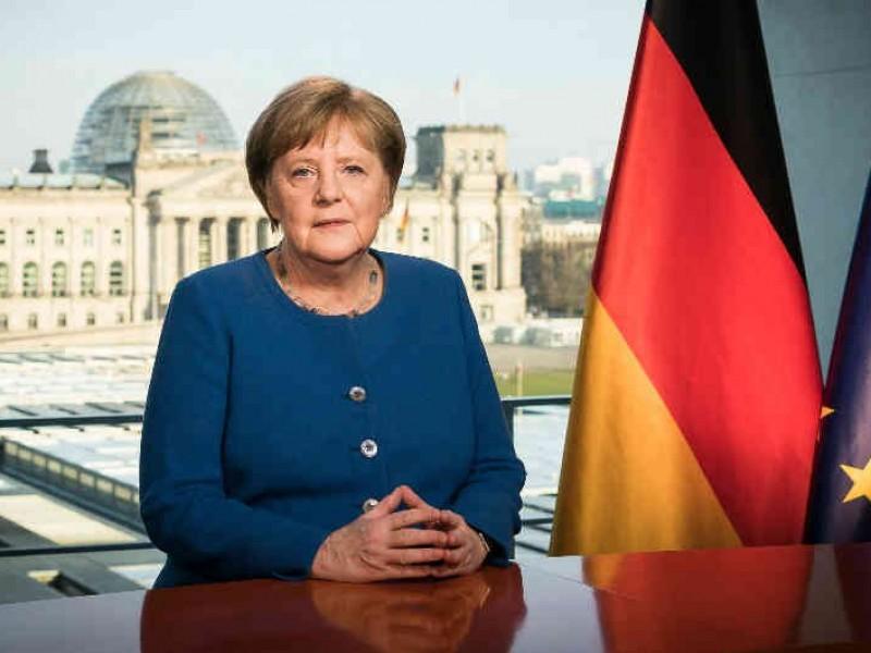 Tras reunirse con médico infectado, Angela Merkel inicia cuarentena