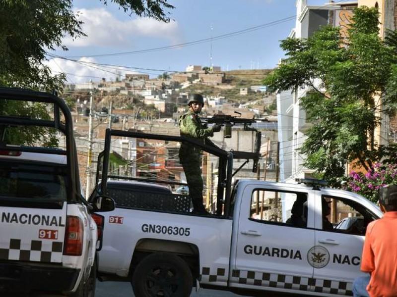 Tras tensión en Sinaloa refuerzan seguridad en Zacatecas