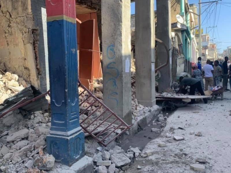 Tras terremoto, varios heridos y daños a infraestructura en Haití