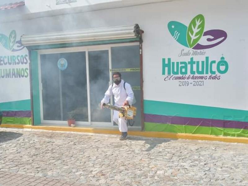 Trasciende posible brote de Covid-19 en ayuntamiento de Huatulco