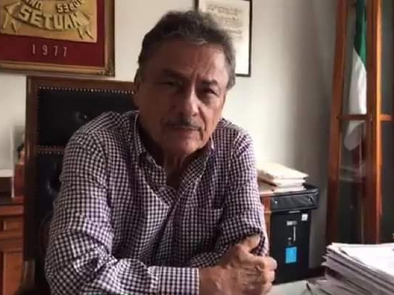 Fue detenido dirigente del SETUAN, Luis Manuel Hernández