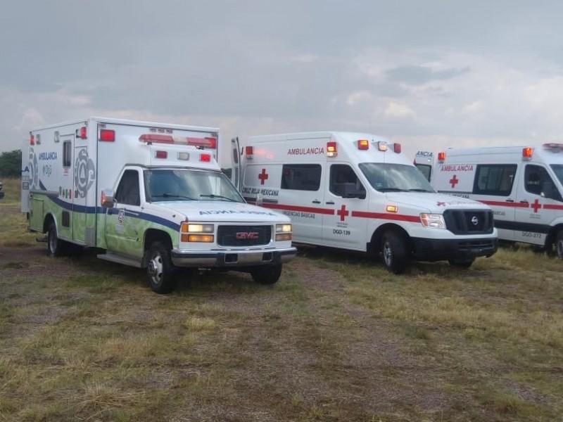 Trasladan a 18 heridos de accidente aéreo