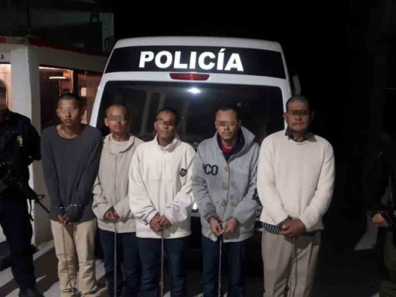 Trasladan a implicados en ataque en Villa Unión