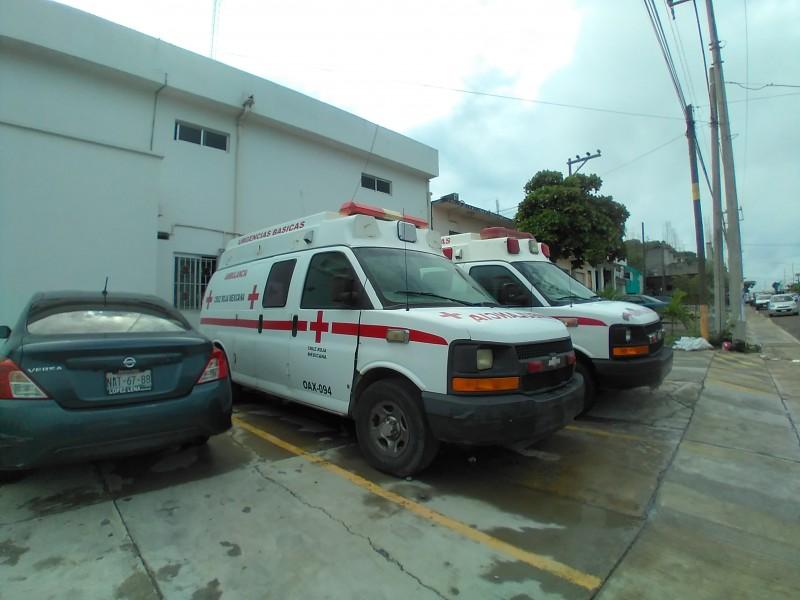 Traslados programados por Covid-19 han solventado a la Cruz Roja