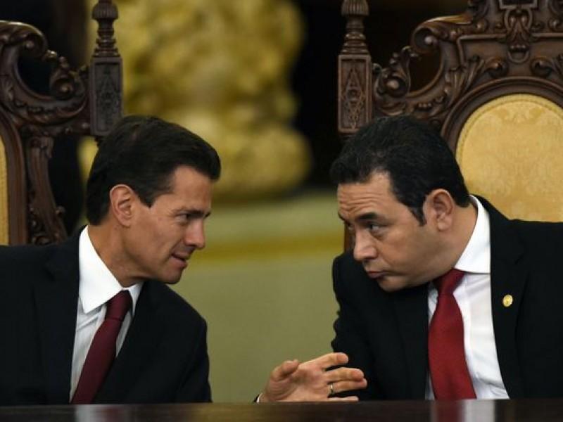 Trata EPN plan migratorio con Guatemala y Honduras