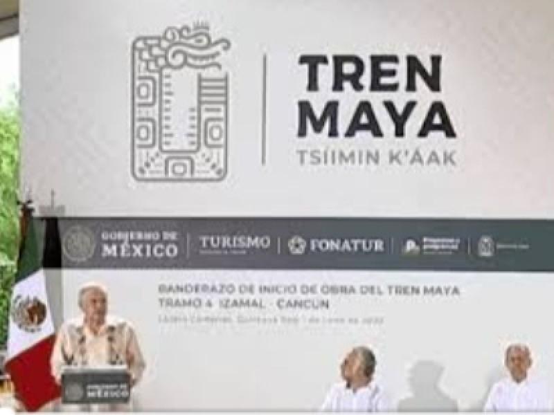 Tren Maya terminará en tiempo programado: AMLO