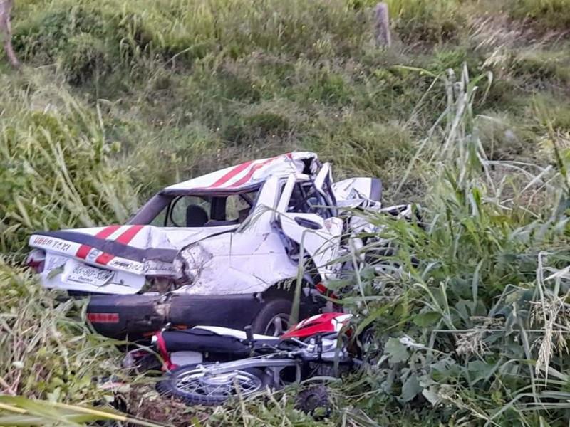 Tres muertos deja fuerte accidente en carretera panamericana