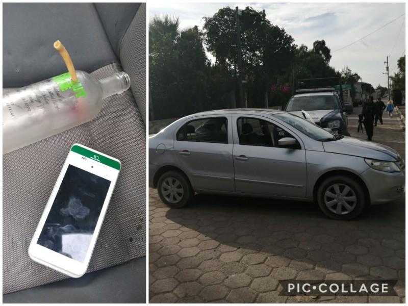 Tres personas detenidas por robo de auto