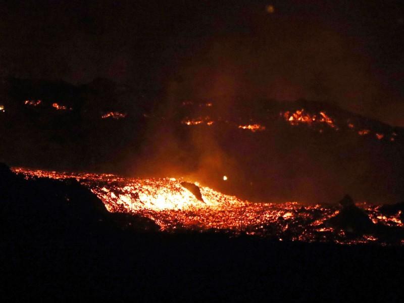 Tres semanas de furia volcánica en La Palma