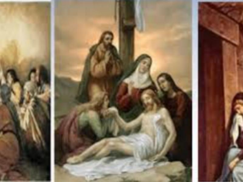 Triduo Pascual los días más importantes de la Semana Santa.