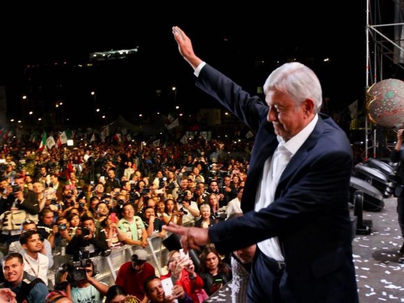 Triunfo de Obrador ya era esperado por tapatíos
