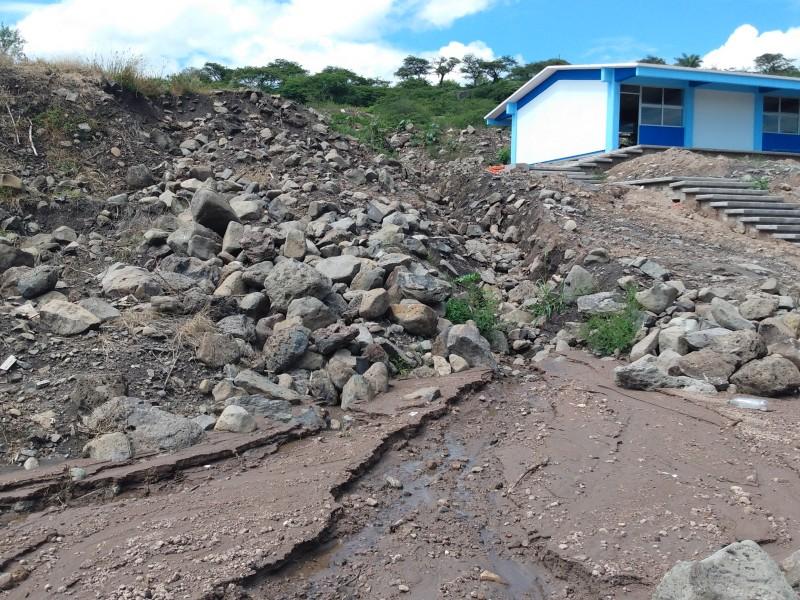Tromba deja afectaciones en 18 viviendas de La Piedad