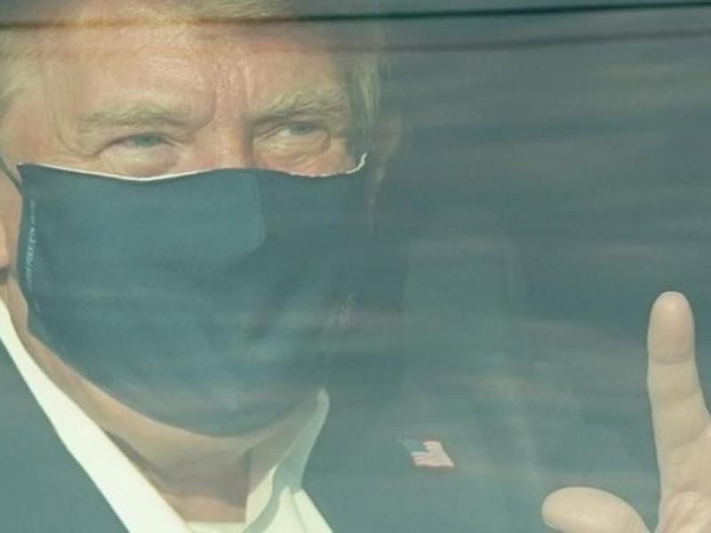 Trump abandona el hospital y continúa en tratamiento
