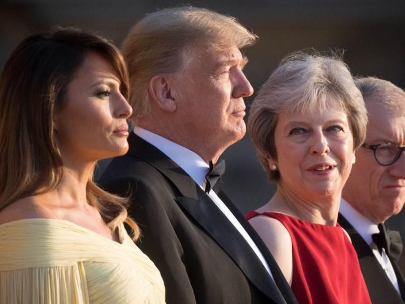 Trump aconsejó a May demandar a la UE
