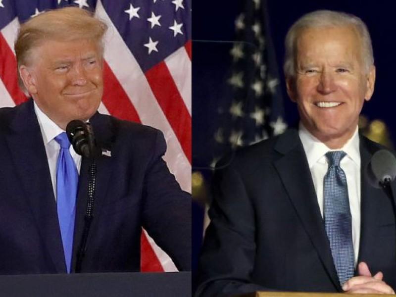 Trump admite que Biden ganó, pero asegura que por fraude