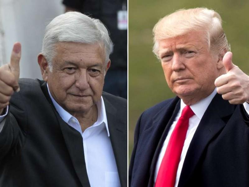 Trump agradece a Peña y AMLO por renegociación