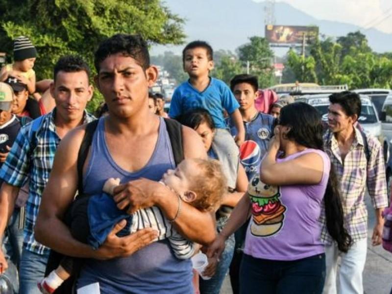 Trump amenaza cerrar frontera por caravana migrante