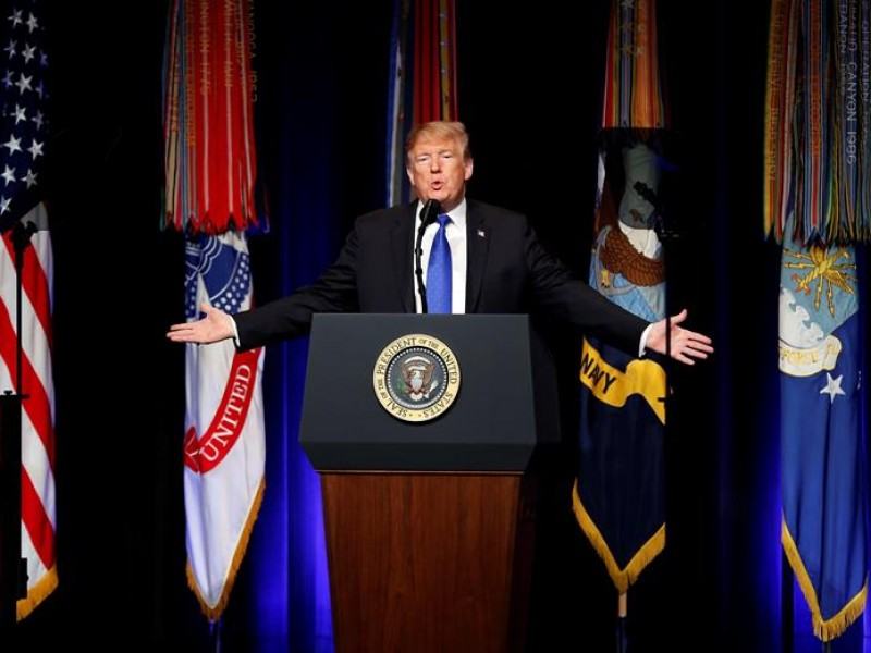 Trump anuncia la ampliación del sistema de misiles