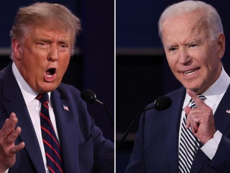 Trump arremete contra Joe Biden, lo llama CORRUPTO