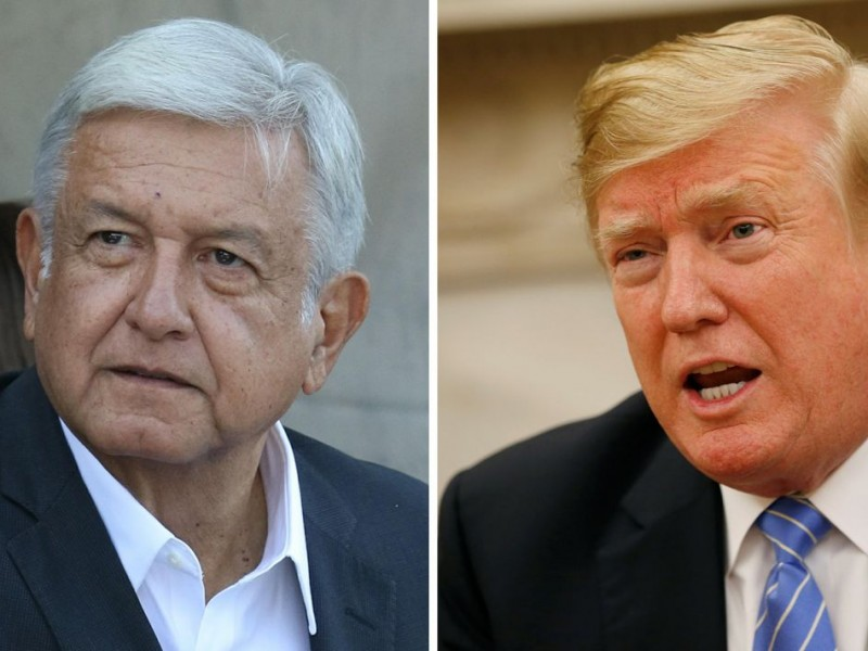 Trump asistiría a toma de posesión de AMLO