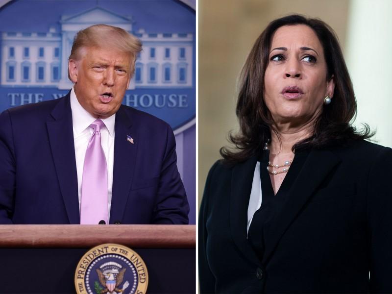 Trump arremete contra Kamala Harris, por ser hija de inmigrantes