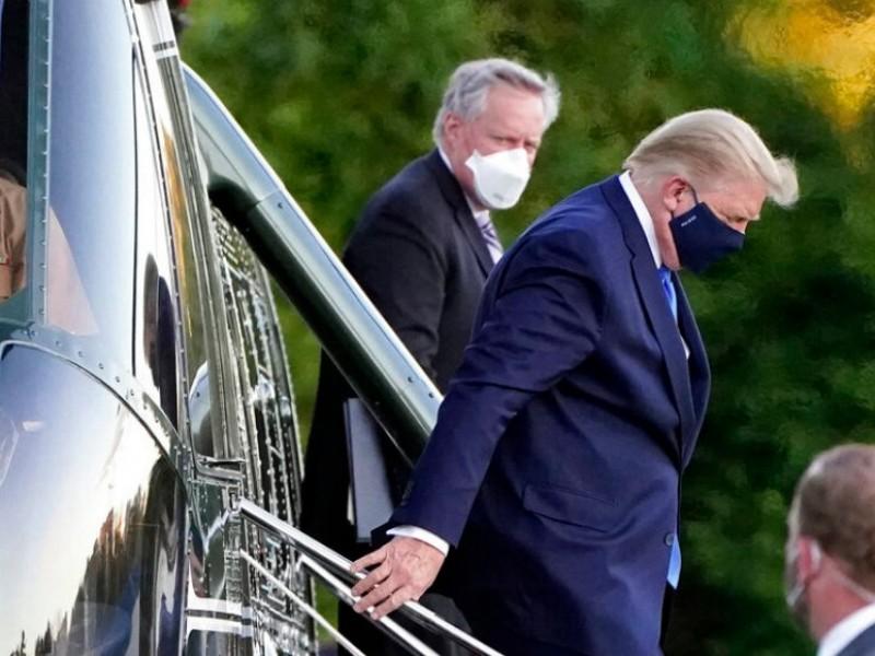 Trump inicia tratamiento con remdesivir