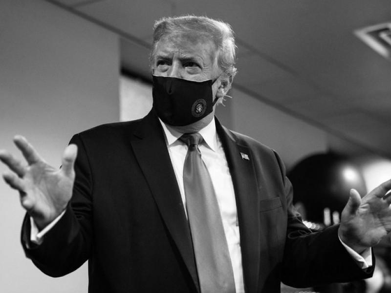 Trump no ha necesitado oxígeno, asegura equipo médico