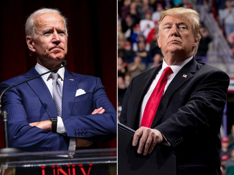 Trump prefiere a Biden como rival demócrata