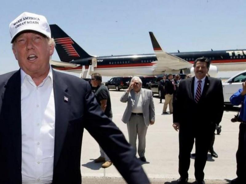 Trump se aferra al muro: