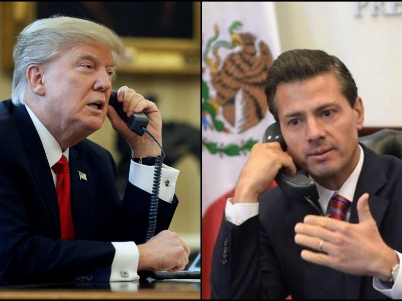 Trump y Peña logran acuerdo comercial