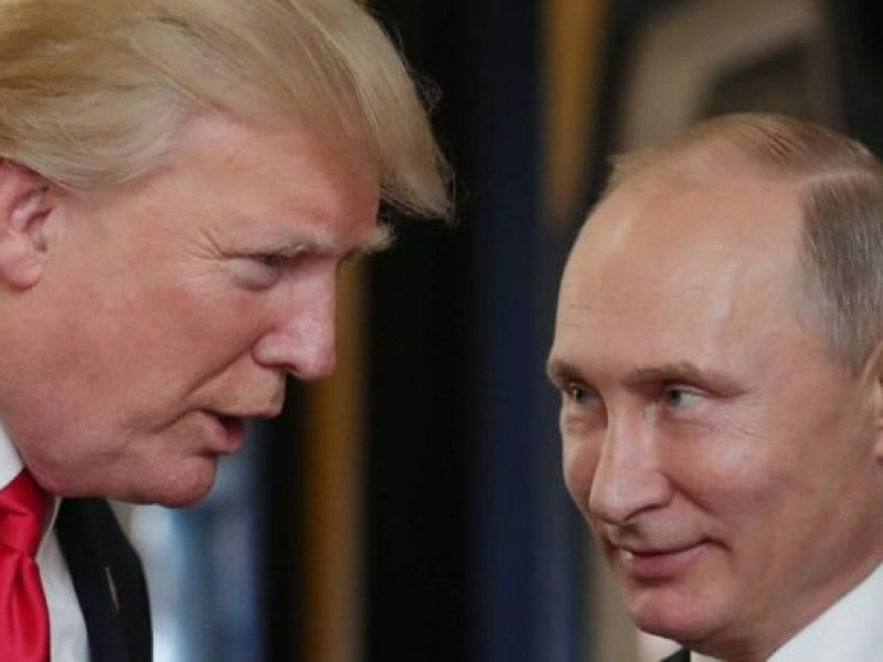 Trump y Putin comienzan histórica cumbre en Finlandia