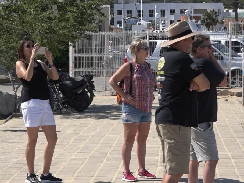 Turistas limitados por la conexión de internet en el municipio