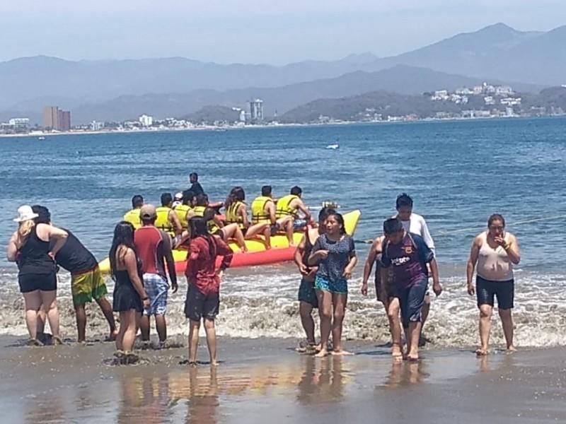 Turistas se olvidaron de la Covid-19 en semana Santa
