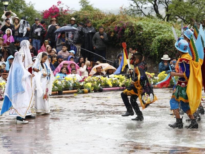 Turistas y poblanos disfrutaron del Huey Atlixcáyotl