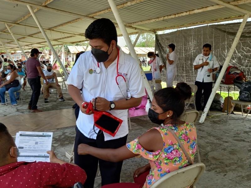 Tuxpan en día de atención a rezagados en vacunación