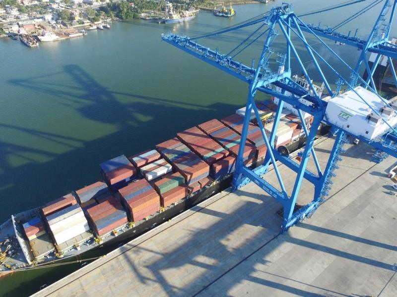 Tuxpan reporta una baja en índice de movilidad de contenedores
