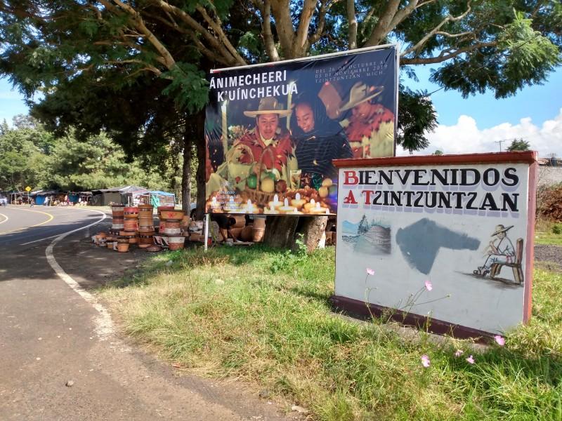 Tzintzuntzan cancela actividades culturales durante noche de muertos