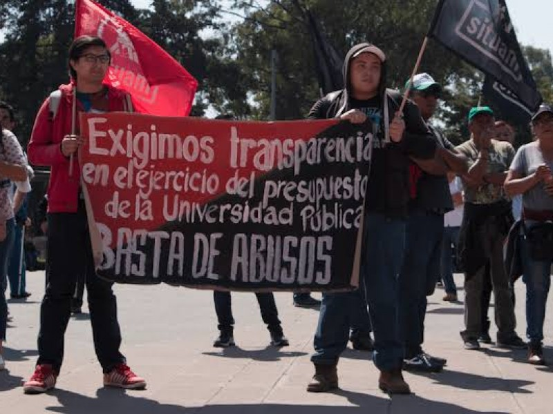 UAM culpa al sindicato por pérdida del semestre
