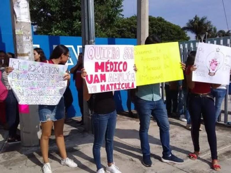 UAN revisará casos de estudiantes rechazados