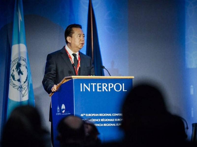 Ubican a jefe de Interpol desaparecido