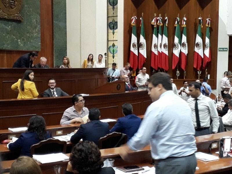 Última sesión de la Diputación Permanente como medida ante COVID-19