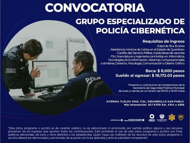 Últimos días de la Convocatoria de Policía Cibernética