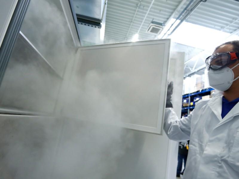 Ultracongeladores de Oaxaca, con capacidad para 200 mil dosis anticovid