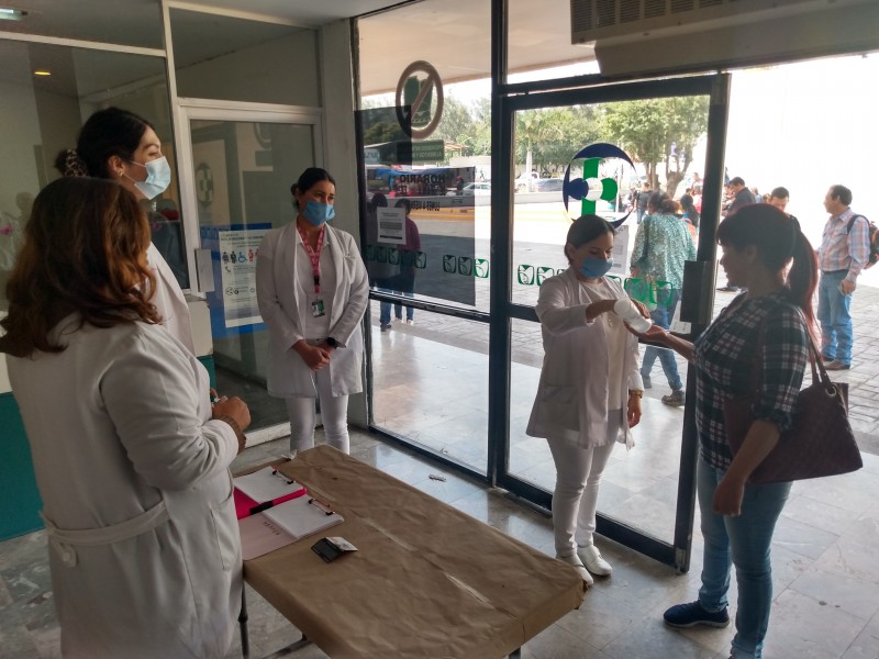 UMF IMSS en Cajeme, ya implementa filtro sanitario