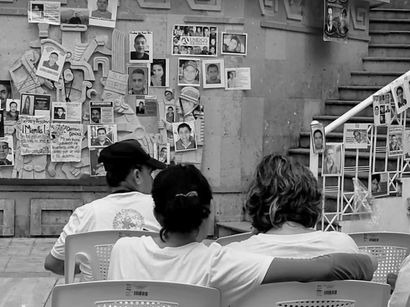 Un año difícil para colectivos de familiares de personas desaparecidas